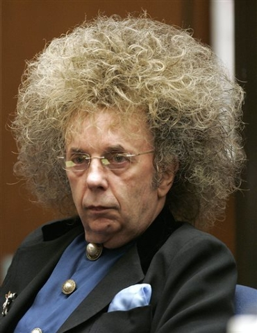 FILE - This May 23, 2005 file photo shows music producer Phil Spector during his trial at the Los Angeles Superior Court in Los Angeles. Two newly released photos taken in 2013 of Spector show the ...