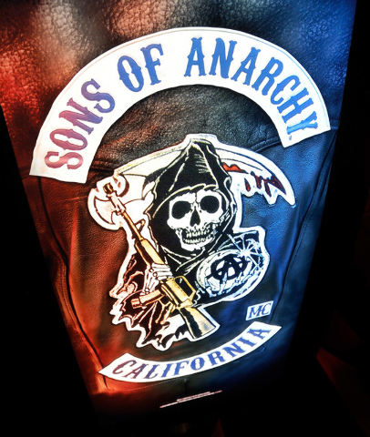"""Aristocrat Technologies' new slot machine, """"Son of Anarchy,"""" will be on unveiled next week at the 2014 Global Gaming Expo in Las Vegas. (David Becker/Las Vegas Review-Journal)"""