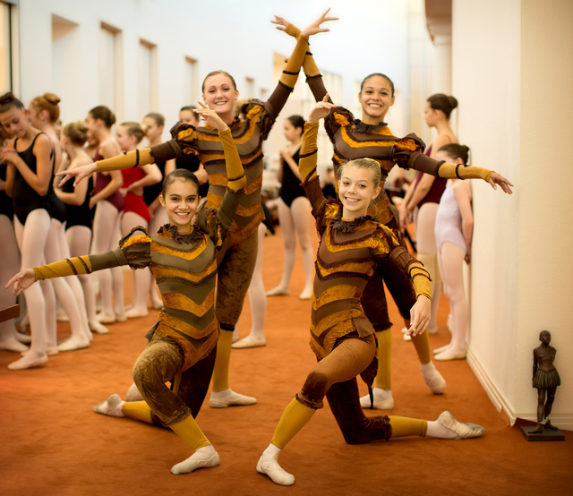 """Students from Nevada Ballet Theatre's academy will join the company this weekend, dancing in the first act of """"A Midsummer Night's Dream"""" during NBT's season opener this weekend at The Smith Cente ..."""