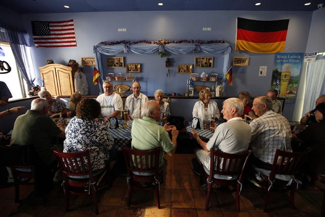 The Bavarian Castle restaurant in Henderson on Sunday, Sept. 14, 2014. (Justin Yurkanin/Las Vegas Review-Journal)