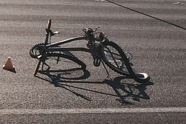Richard Phillip Dorame, 42, died in an auto-bicycle accident Saturday, Sept. 13, 2014, in North Las Vegas. (Bizu Tesfaye/Las Vegas Review-Journal)