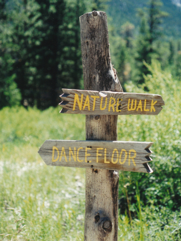 A trail sign is seen at Lee Canyon at Mount Charleston, July 2002. Lee Canyon is set to host Camp Silver Pines Sept. 17, 18 and 19. (Diane Bush/Special to View)