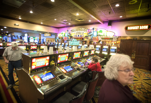 Railroad Pass hotel-casino in Henderson, Nevada as seen Friday, Sept. 5, 2014.  MGM International is selling Railroad Pass to Henderson real estate developer Joe DeSimone. The oldest, continuously ...