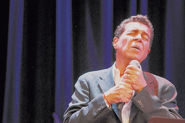 Singer Clint Holmes will be part of the celebration marking Nevada's 150th birthday Monday night at The Smith Center for the Performing Arts. (Courtesy)