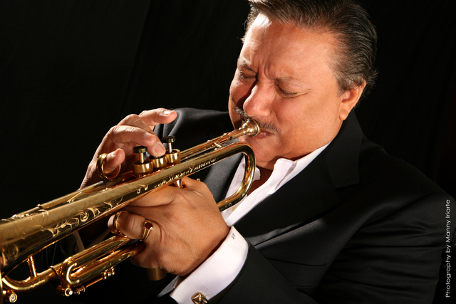 Trumpeter Arturo Sandoval -- who performed at The Smith Center's opening gala -- returns to play his own tunes, and salute fellow trumpet great Dizzy Gillespie, at Cabaret Jazz this weekend. (Cour ...