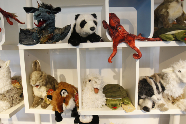 Toys are seen inside Kappa Toys store at the Container Park in Las Vegas Thursday, Aug. 28, 2014. Kappa Toys is one of three new businesses opening at the Container Park. (Erik Verduzco/Las Vegas  ...