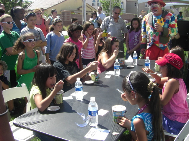 Courtesy photo  There will be ice cream-eating contests for children and adults and other activities at the free Sunny 106.5 Ice Cream Sunday event on Sept. 28 at The Promenade Park in the Provide ...