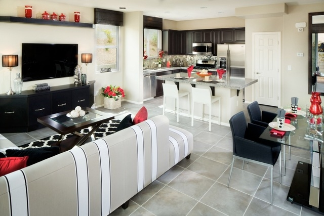 """Courtesy photo Mesa Verde homes feature """"buyer inspired"""" designs, such as the one shown in this photo of a home in Harmony Homes' Daybreak community."""
