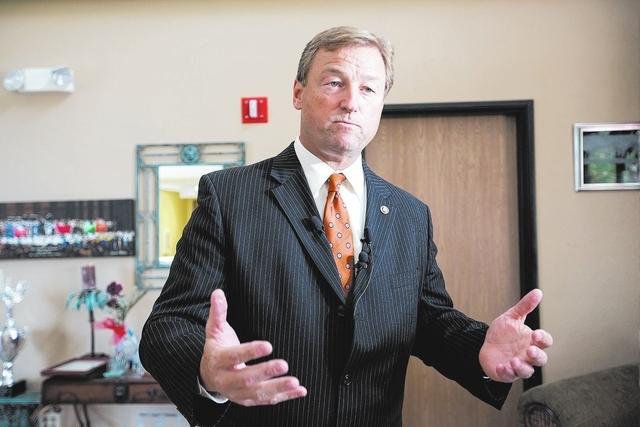 U.S. Sen. Dean Heller, R-Nev. (Chase Stevens/Las Vegas Review-Journal)