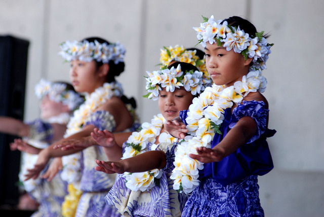 Dancers perform at a Prince Kuhio Ho'olaule'a Pacific Islands Festival in Henderson. This year's festival is scheduled from 10 a.m. to 10 p.m. Sept. 13 and 10 a.m. to 6 p.m. Sept. 14 at the He ...