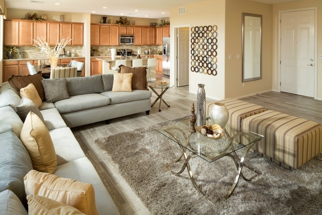 Courtesy photo Mesa Verde homes feature open floor plans, such as the one shown in this photo of a home in Harmony Homes' Silhouette community.