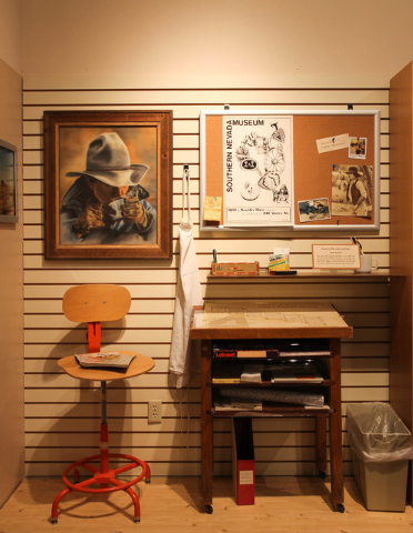 """The Clark County Museum, 1830 S. Boulder Highway, plans to display its """"Curator's Choice: Favorites from the Collection"""" exhibit through January. The exhibit was selected by Dawna Jolliff, w ..."""