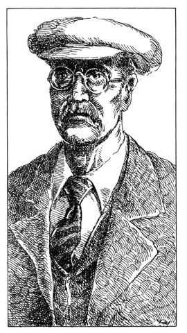 Las Vegas pioneer J. T. McWilliams is pictured in this undated illustration. McWilliams owned land in Lee Canyon as well as land near the future site of Las Vegas. (File-unknown source)