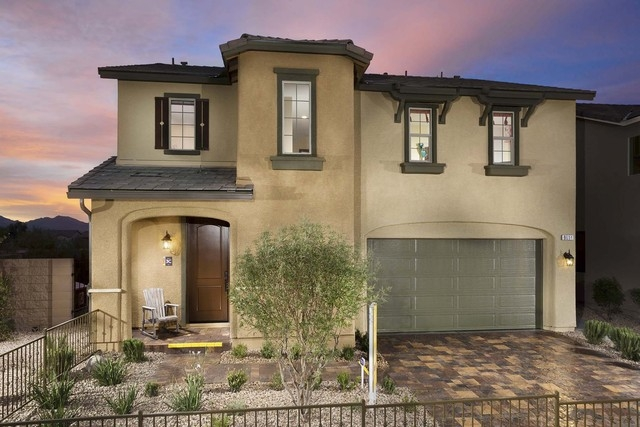 Courtesy photo Three new model homes are featured at Pardee Homes' new Summerglen neighborhood in the southwest valley, including the Residence Three shown here as the model home.