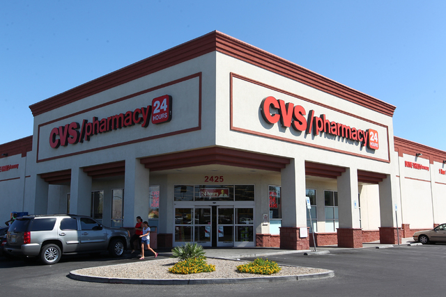 las vegas police search for armed cvs robber