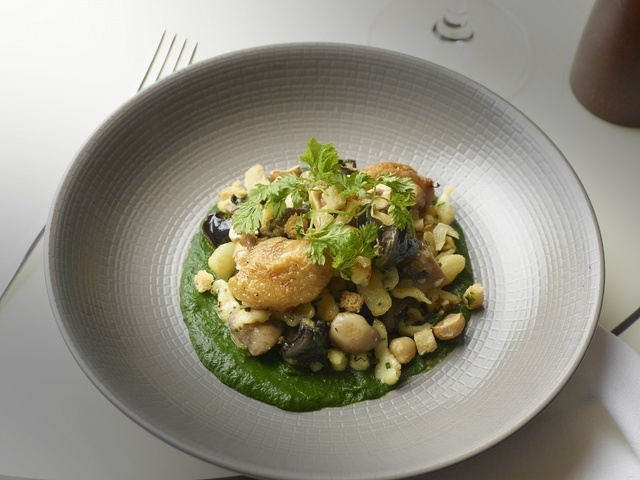 Escargots Spatzle, DB Brasserie, The Venetian (Courtesy)
