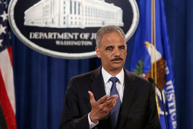 U.S. Attorney General Eric Holder announced on Thursday, Sept 4, 2014, the Department of Justice will launch a civil investigation into the police department in Ferguson, Missouri, where unarmed b ...