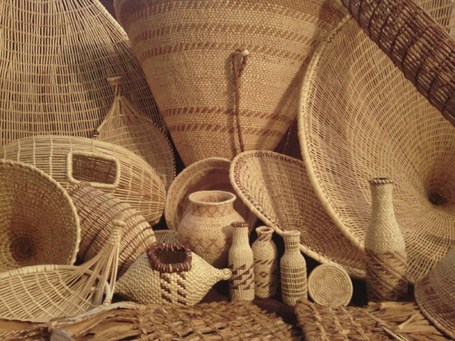 As part of  Native American Visiting Artist Event series, Everett Pikyavit of the Moapa Band of Paiutes, is scheduled to demonstrate basket weaving, and have baskets for sale from 10 a.m. to 1 p.m ...