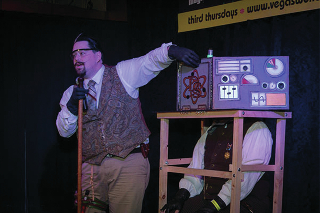 Wonderground, a variety and magic performance is scheduled from 8 to 11 p.m. Sep.18 at the Olive Mediterranean Grill and Hookah Bar, 3850 E Sunset Road. Steampunk magician Dyno Staats is one of th ...