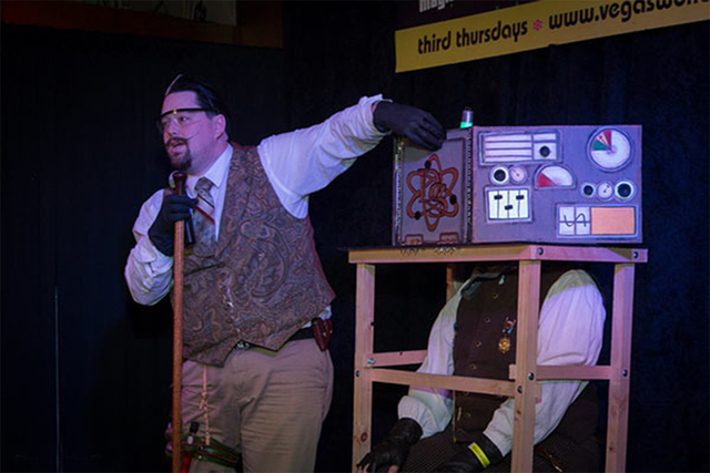 Wonderground, a variety and magic performance, is scheduled from 8 to 11 p.m. Sep.18 at the Olive Mediterranean Grill and Hookah Bar, 3850 E Sunset Road. Steampunk magician Dyno Staats is one of t ...