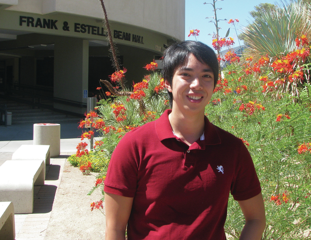 Ray Ocampo spent a lot of time in Beam Hall at UNLV when he attended classes in finance. The 2014 graduate began building his resume while he was still in school and is now employed at a major Str ...