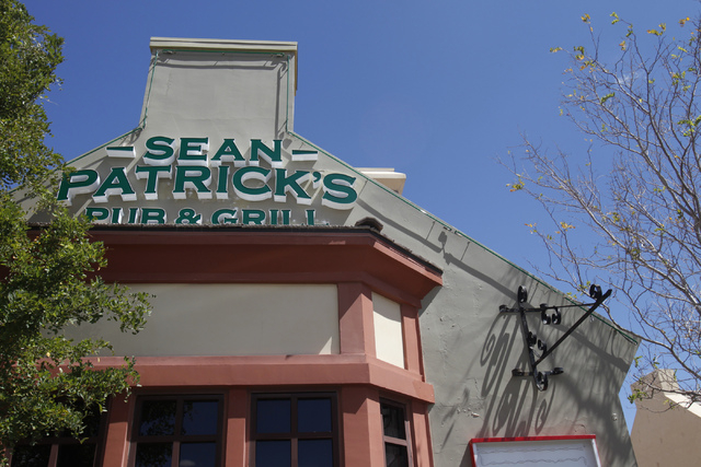 Sean Patrick's pub and grill, formerly Molly Malone's Irish Pub, 11930 Southern Highlands Parkway in Las Vegas, is seen on Thursday, Sept. 4, 2014. The location is getting a renovation after being ...