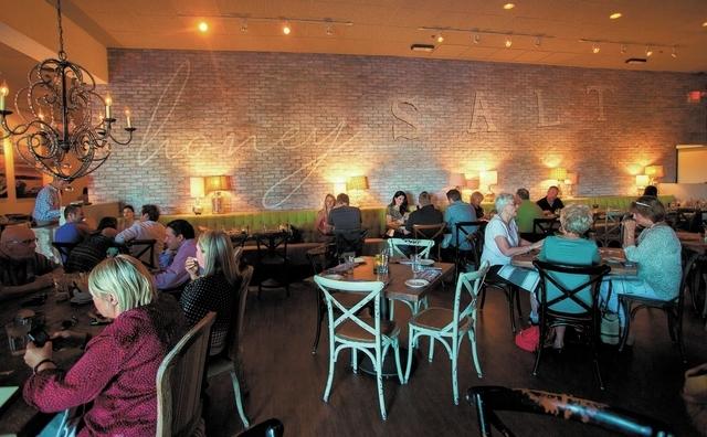 Patrons dine at Honey Salt, 1031 S. Rampart Blvd. in Las Vegas on Friday, May 24, 2013. (Chase Stevens/Las Vegas Review-Journal)
