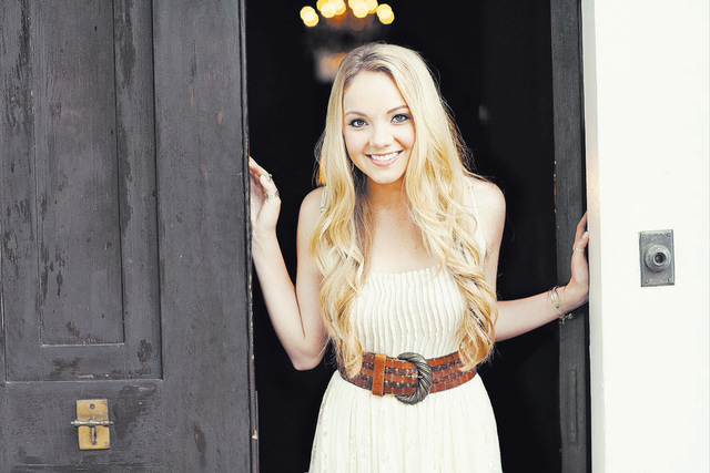 """Danielle Bradbery, the 18-year-old winner of """"The Voice,"""" performs Thursday at Santa Fe Station. (Courtesy)"""