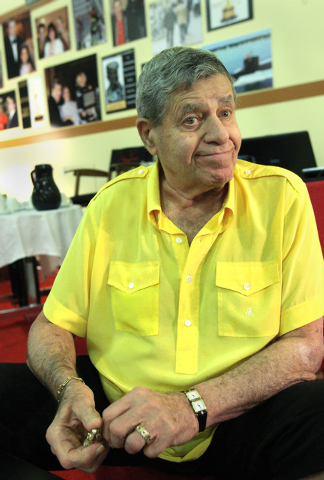 Jerry Lewis (Review-Journal File)