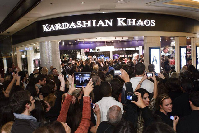 Kardashian Khaos in The Mirage will close Oct. 30. (Courtesy/Facebook)