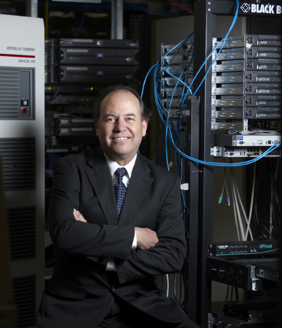 Joe Lombardo is director of the Supercomputing Center on the campus of the University of Nevada, Las Vegas. (Courtesy/Geri Kodey, UNLV Photo Services)