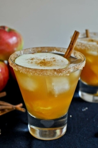 Apple Cider Margarita, Willy and Jose's Cantina, Sam's Town (Courtesy)