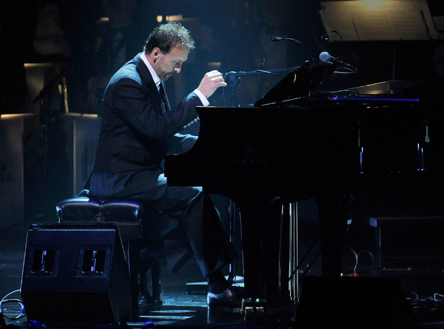 Phillip Fortenberry performs during the Nevada Sesquicentennial All-Star Concert at The Smith Center on Monday, Sept. 22, 2014, in Las Vegas. The variety show, featuring many Las Vegas entertainer ...