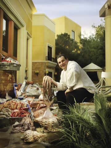 Chef Paul Bartolotta outside Bartolotta di Mare. (Courtesy)