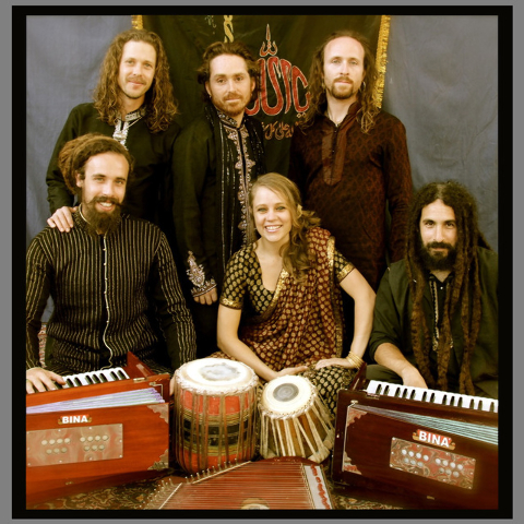 The Fanna-Fi-Allah Sufi Qawwali Party, a California-based ensemble, makes its Las Vegas debut Friday night at the Winchester Cultural Center. (Courtesy)