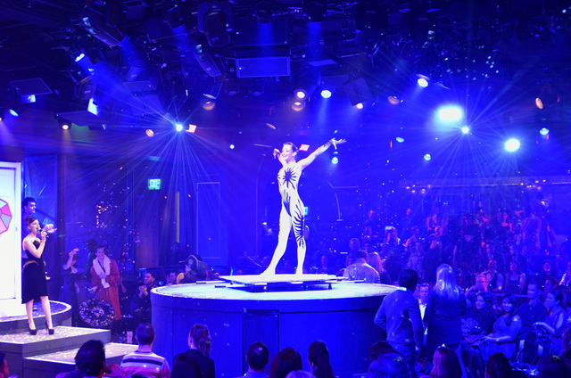 "Pandora performs during ""Vegas Nocturne"" at Rose.Rabbit.Lie. in The Cosmopolitan of Las Vegas at 3708 Las Vegas Blvd., South, on Friday, Jan. 10, 2014. (Bill Hughes/Las Vegas Review-Journal)"