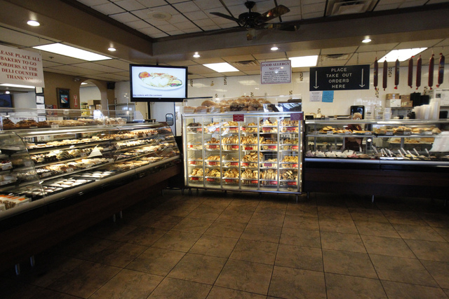 Bagel Cafe, 301 N. Buffalo Drive, in Las Vegas is seen on Wednesday, Sept. 17, 2014. Bagel Cafe is selling baked goods for the Jewish holiday Rosh Hashanah. (Erik Verduzco/Las Vegas Review-Journal)