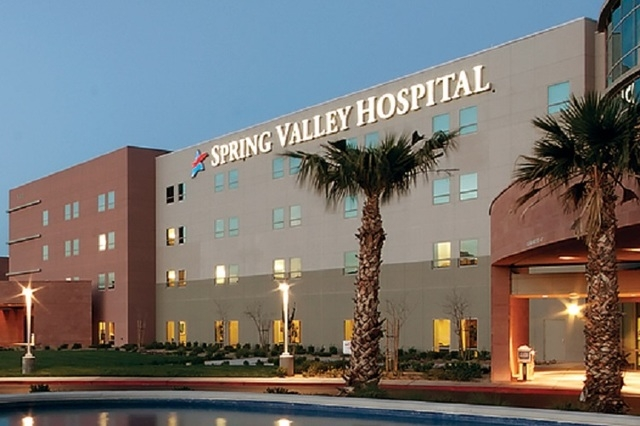 The Clark County coroner's office on Wednesday ruled that a California man hospitalized in June at Spring Valley Hospital died from an overdose of cocaine, meth and ethanol intoxication. (Courtesy ...