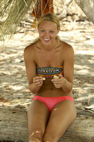 "Las Vegan Jaclyn Schultz will be one of the 18 castaways competing with their loved ones this season on ""Survivor."" (Monty Brinton/CBS)"