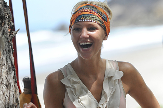 "Las Vegan Jaclyn Schultz will be one of the 18 castaways competing with their loved ones this season on ""Survivor."" (Timothy Kuratek/CBS)"