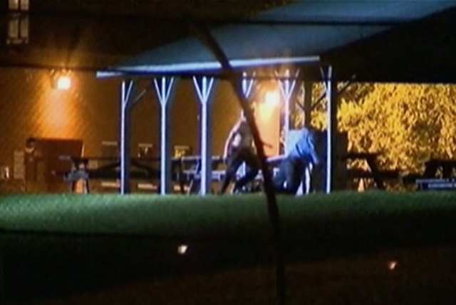 At a Nashville detention center Wednesday night, more than two dozen teens broke out of a common area and created a large disturbance in the yard, roaming the area with sticks and spraying a fire  ...