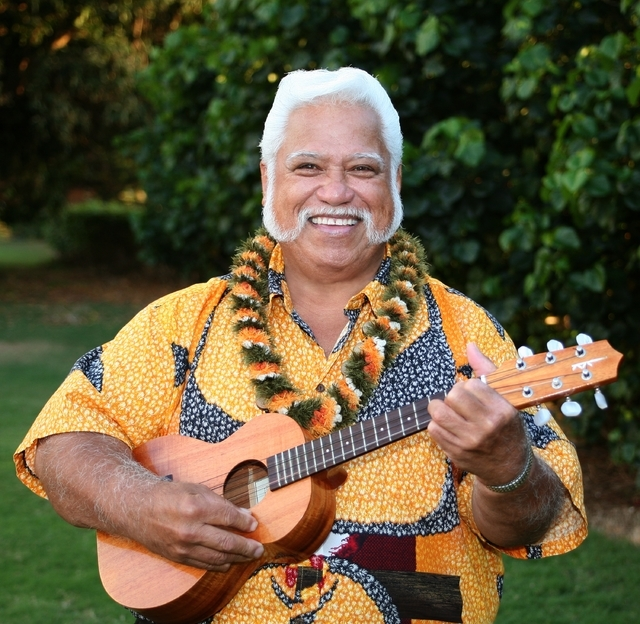 """Uncle"" Richard Ho'opi'i brings his ukulele to The Smith Center's Cabaret Jazz this weekend for a ""Masters of Hawaiian Music"" concert. (Courtesy)"