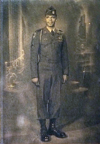 U.S. Army Sgt. 1st. Class William Miller is seen  in a photo taken at the end of the Korean War. (Photo courtesy of William Miller)