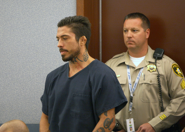 The former MMA and Ultimate Fighting Championship fighter War Machine, also known as Jonathan Paul Koppenhaver, was ordered to be held without bail at an initial appearance in a Las Vegas courtroo ...
