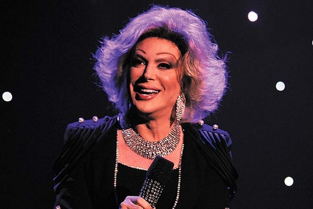 "Few could match Joan Rivers' work ethic, according to Frank Marino, longtime star of ""La Cage"" at the Riviera and of ""Divas"" at The Quad for the past five years. (Jason Bean/Las Vegas Re ..."