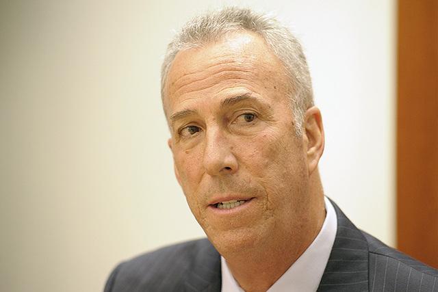 Clark County District Attorney Steve Wolfson (Mark Damon/Las Vegas Review-Journal)