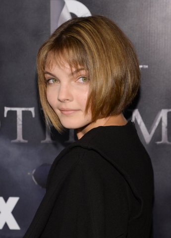 "FILE - In this Monday, Sept. 15, 2014 file photo, actress Camren Bicondova attends the ""Gotham"" series premiere event at the New York Public Library, in New York. If you want an executiv ..."