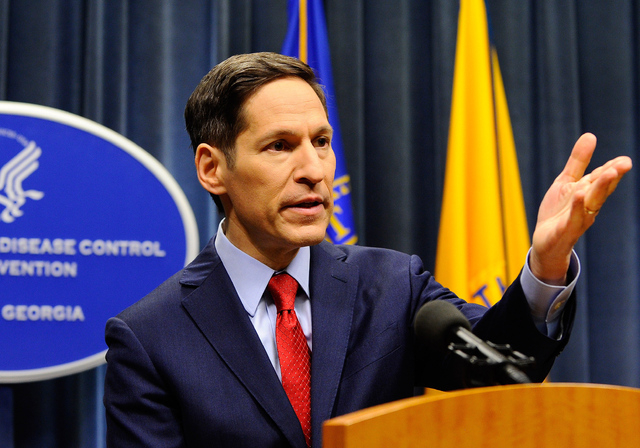 Centers for Disease Control (CDC) Director Tom Frieden provides an update on the latest developments involving the deadly Ebola virus and its infection of a Texas health care professional as he ad ...