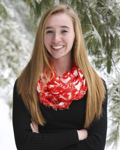This December 2013 photo provided by her family shows Cassidy Charette, 17, of Oakland, Maine, who died from head injuries in an accident at a Halloween-themed hayride Saturday night, Oct. 11, 201 ...