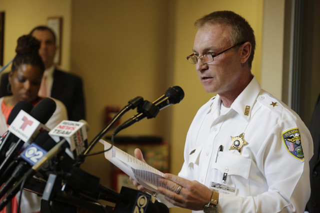 Hammond Police Chief John Doughty speaks at a news conference Monday, Oct. 20, 2015, in Hammond, Indiana. Police investigating the slayings of seven women whose bodies were found over the weekend  ...